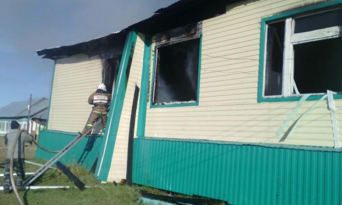 Школа сгорела вканун 1сентября вЧурапчинском улусе Якутии