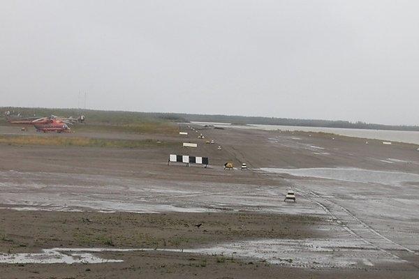 ВЯкутии подтоплена взлетная полоса впоселке Зырянка, аэропорт закрыт