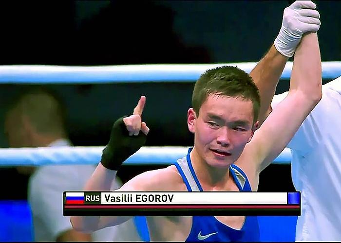 Боксер Василий Егоров проиграл в1/8 финала Олимпийских игр