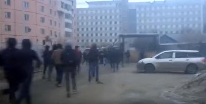 Арестованы семеро зачинщиков массовой потасовки вЯкутске