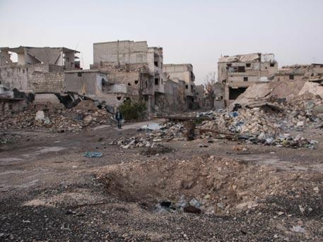 Отряд сапёровВС РФ отправился вСирию для участия вразминировании Алеппо