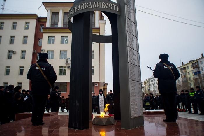 ВВолжском вспомнят служащих УВД, погибших при исполнении служебных обязанностей