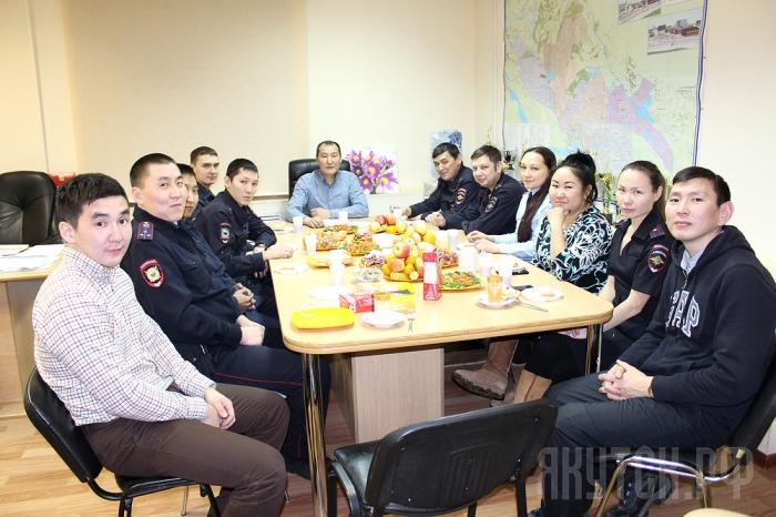 Поздравление от 13 отделения милиции