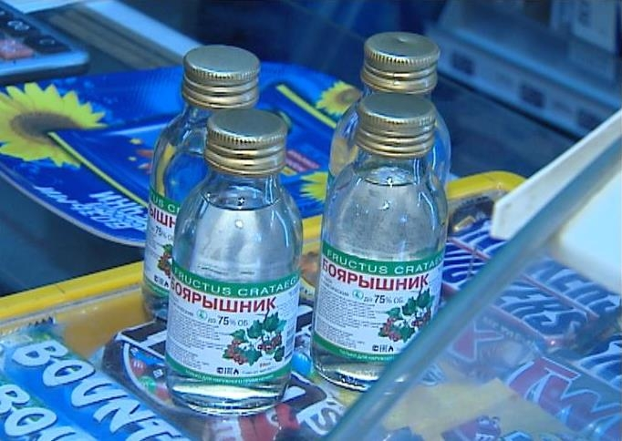 ВЯкутии изпродажи изъяли неменее 20 литров «Боярышника»