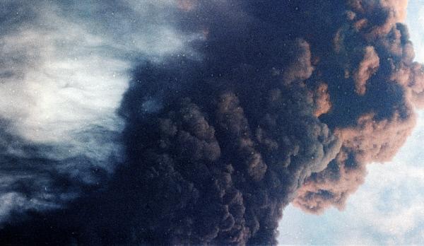 Проснувшийся вулкан Богослов наАляске несёт угрозу для авиации