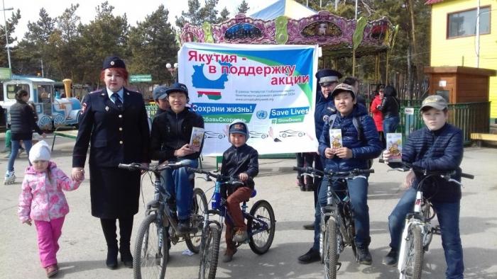 Северодвинск присоединяется кчетвёртой повсеместной неделе безопасности дорожного движения