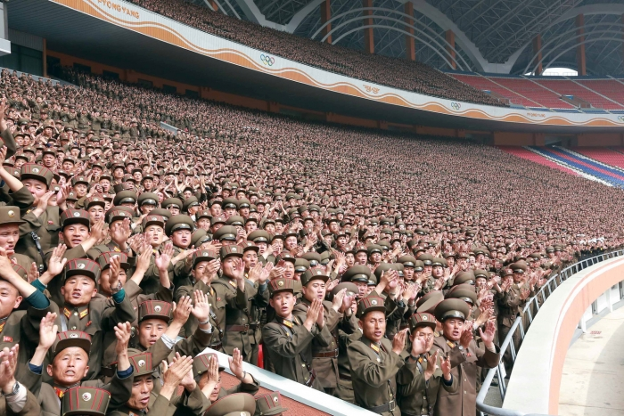 КНДР объявила обуспешном испытании межконтинентальной баллистической ракеты