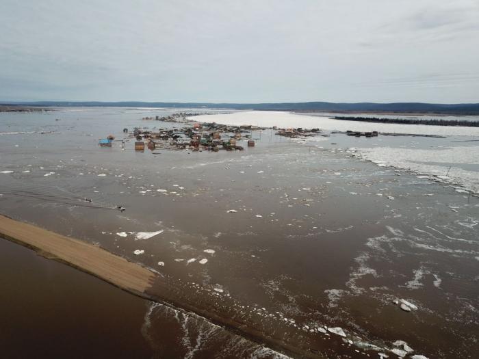 ВЯкутии около 500 дворов остаётся подтоплено паводком