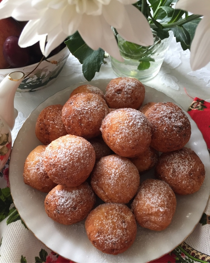 Круглые пончики рецепт с фото