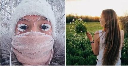 Россиянка шокировала пользователей Сети фото сдесятками комаров