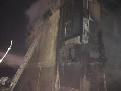 В Якутии на пожаре обнаружено тело мужчины