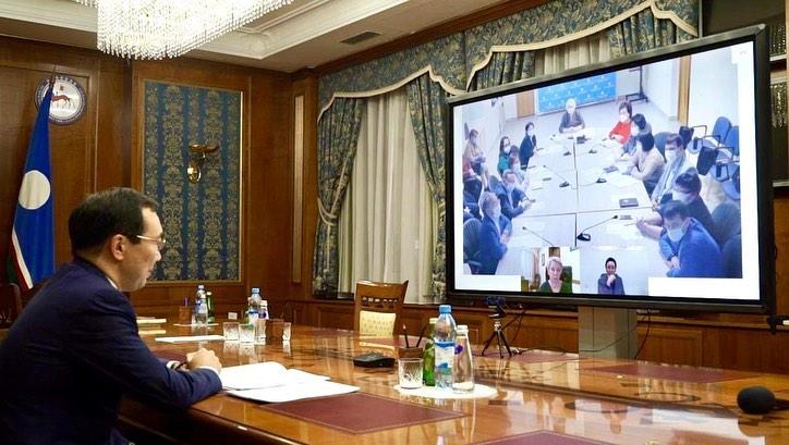 Глава Якутии Айсен Николаев рассмотрел вопросы борьбы с ковидом